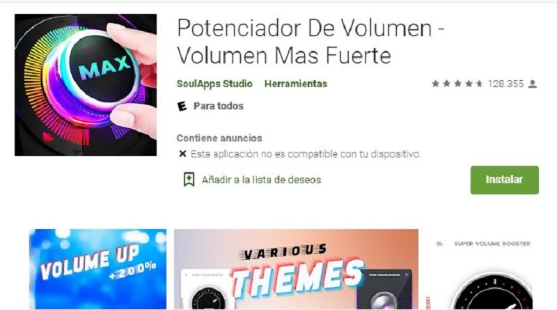 loud volume