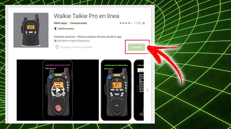Walkie Talkie Pro Online