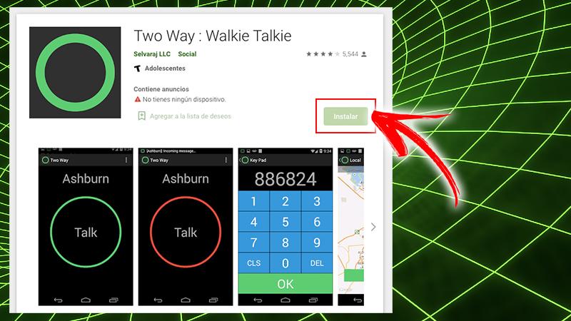Two Way Walkie Talkie