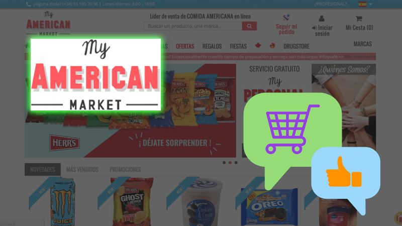 Buy online in the United States at My American Market