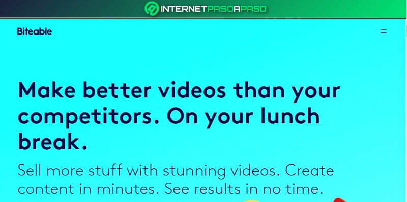 Biteable Video Maker