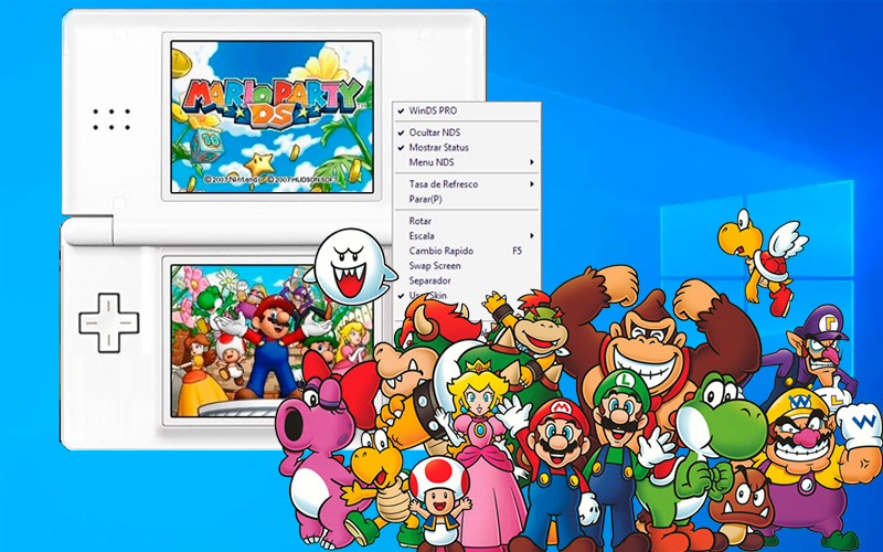 List of the best emulators for the Nintendo DSI that you can install on Windows