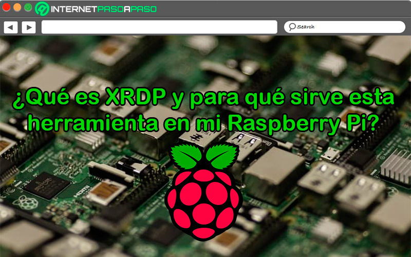 What is XRDP and what is this tool for on my Raspberry Pi?
