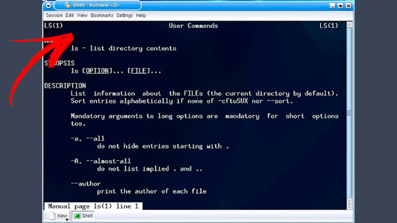 What is the Linux Shell and how is it different from the command console?