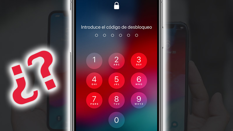 Forget my iPhone XS and XS Max code or password