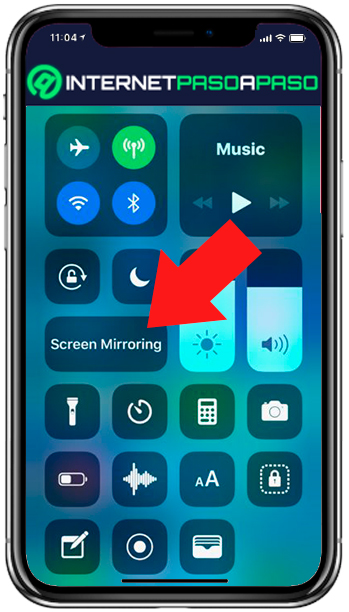 Screen sharing on iPhone