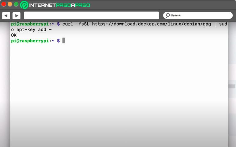 Download Docker keys