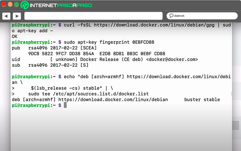 Install Docker repositories