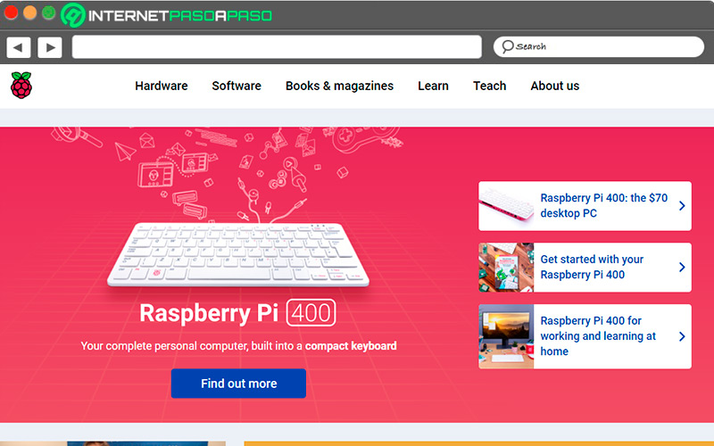 Raspberry Official Website